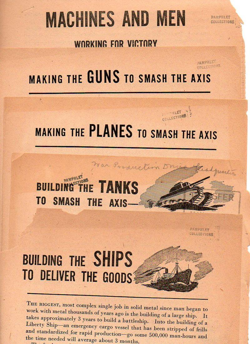 War infrastructure propoganda