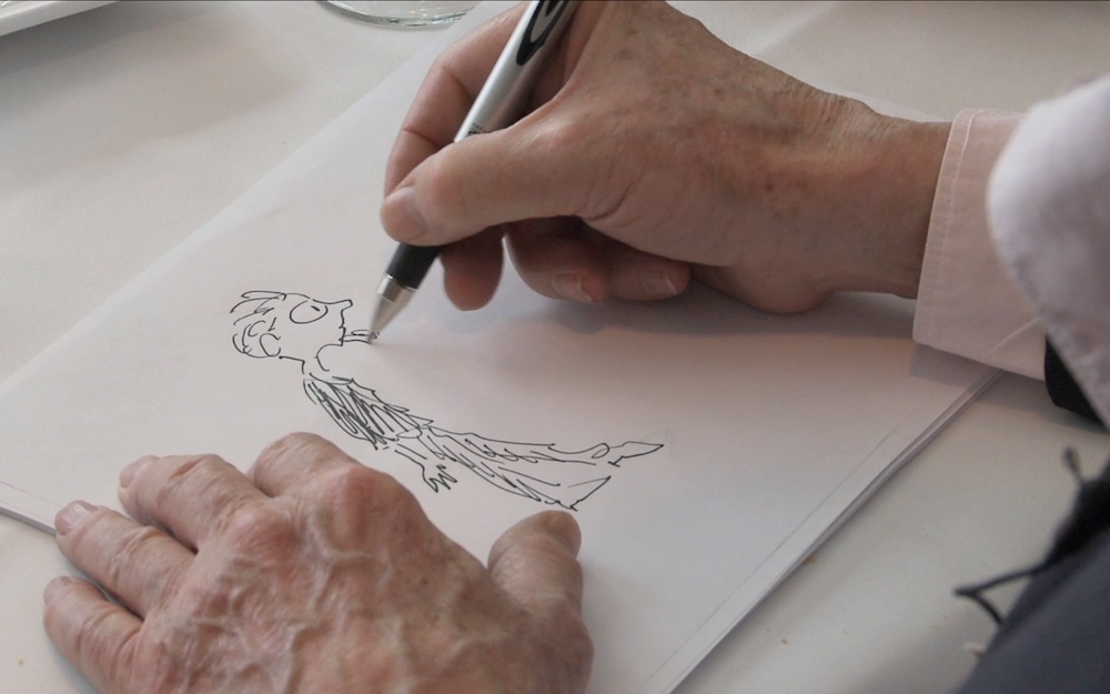 Jules Feiffer Drawing Milo