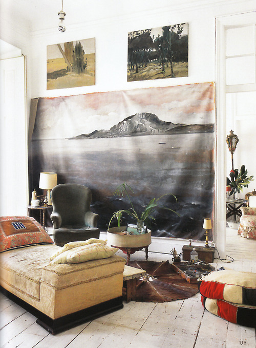 From The World Of Interiors, June 2011 Issue