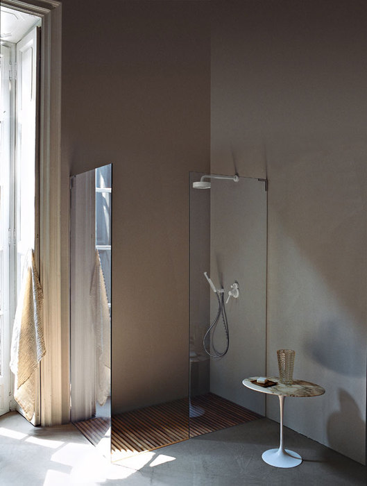 Flat D Shower Systems by Benedini Associati
