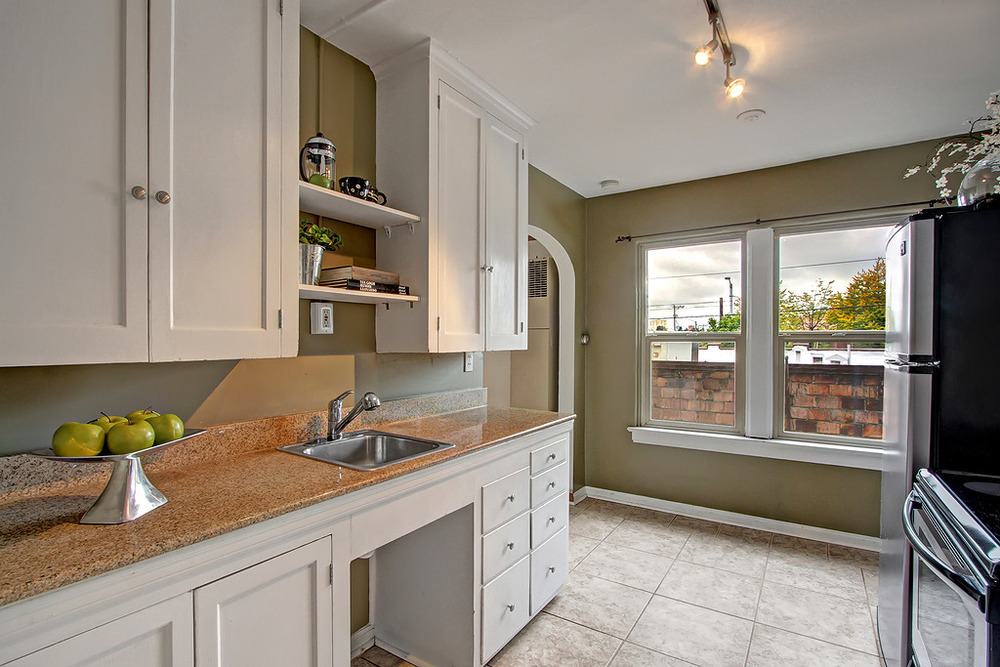 Kitchen from Entry