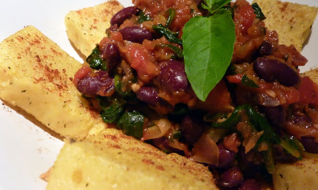 polenta+with+tomato+spinach+and+beans+3.JPG