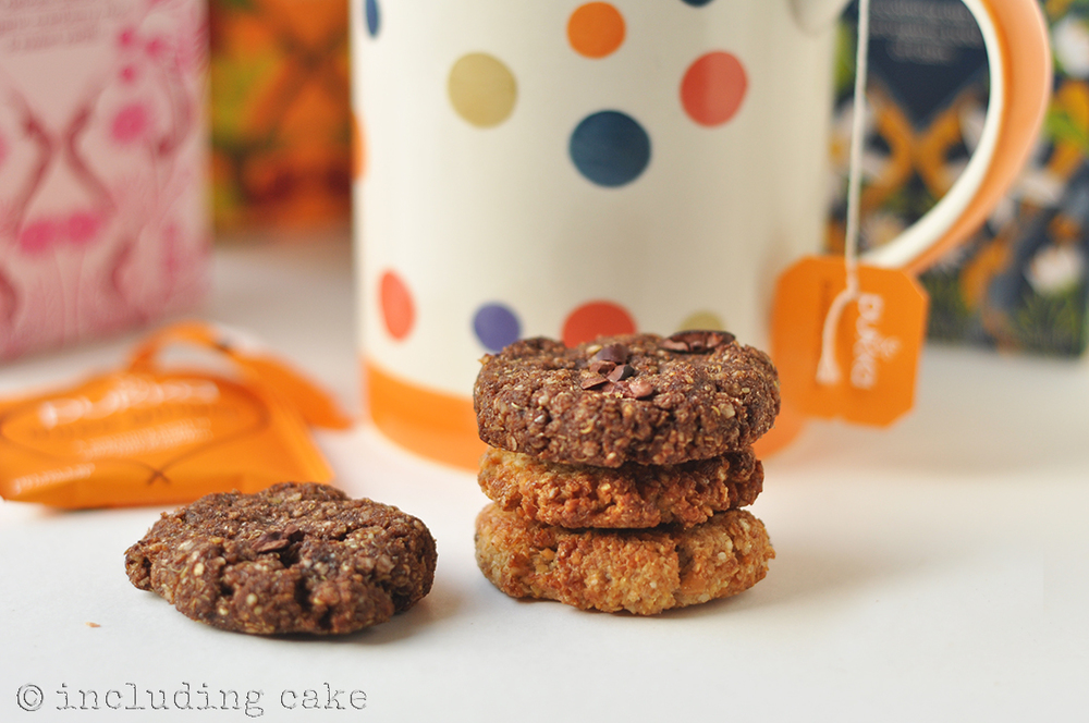 Is a mug of tea complete without a (healthy) cookie to compliment it?