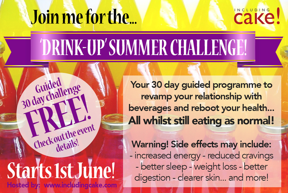 huge selection of 550bd 67184 Join me for the Summer  Drink-up Challenge ... FREE for you!