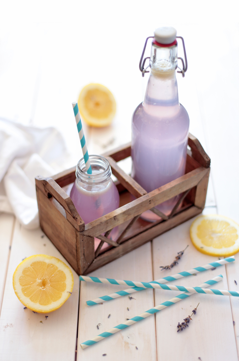 Natural lavender lemonade by Green Evi