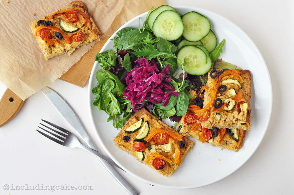 vegan High Protein Pizza Base