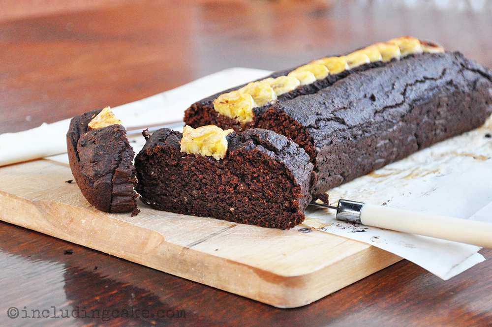 The original choc-banana cake!