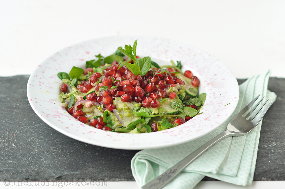 Recipe: Pomegranate salad