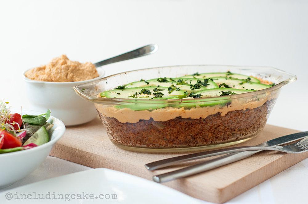 Recipe:Baked Falafel Pie