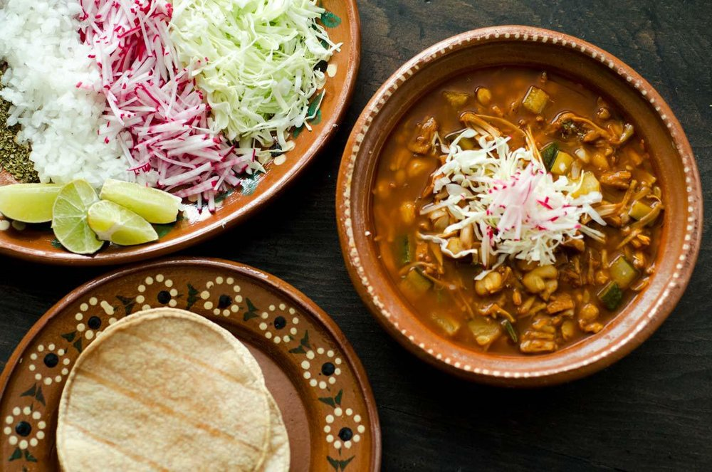 Jackfruit Vegan Pozole Rojo - Doras Kitchen