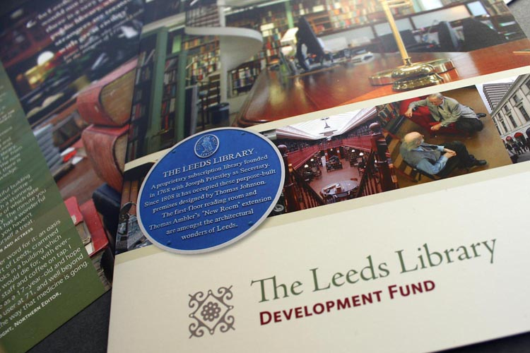 The Leeds Library Development Fund Brochure