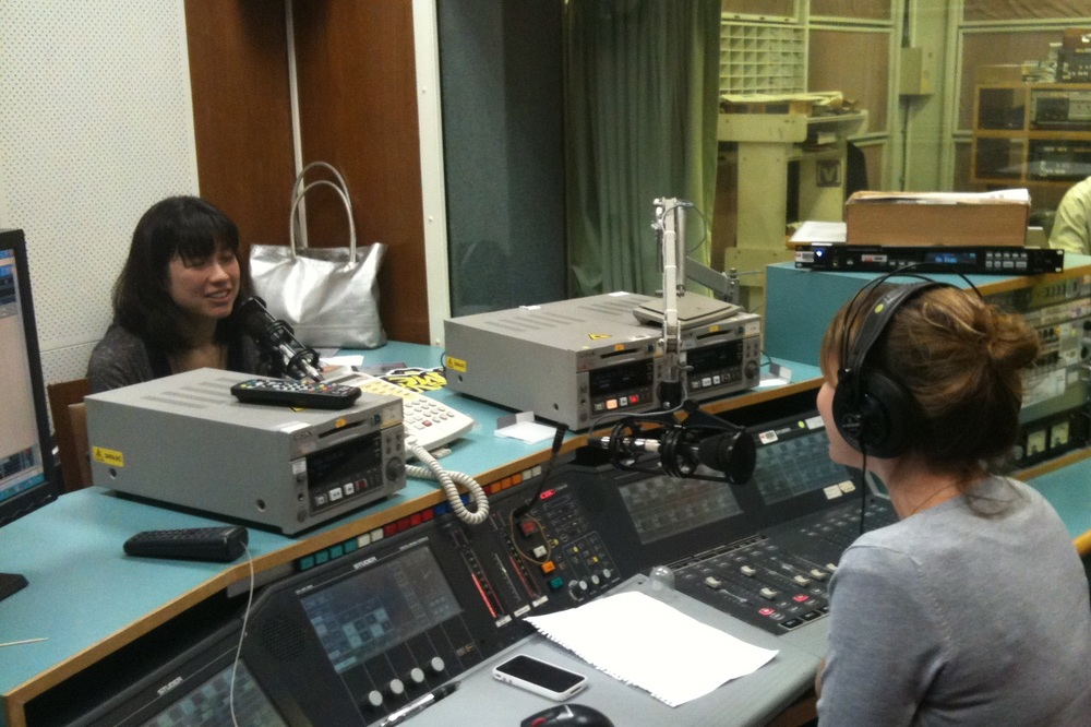 Emmy The Great visits RTHK