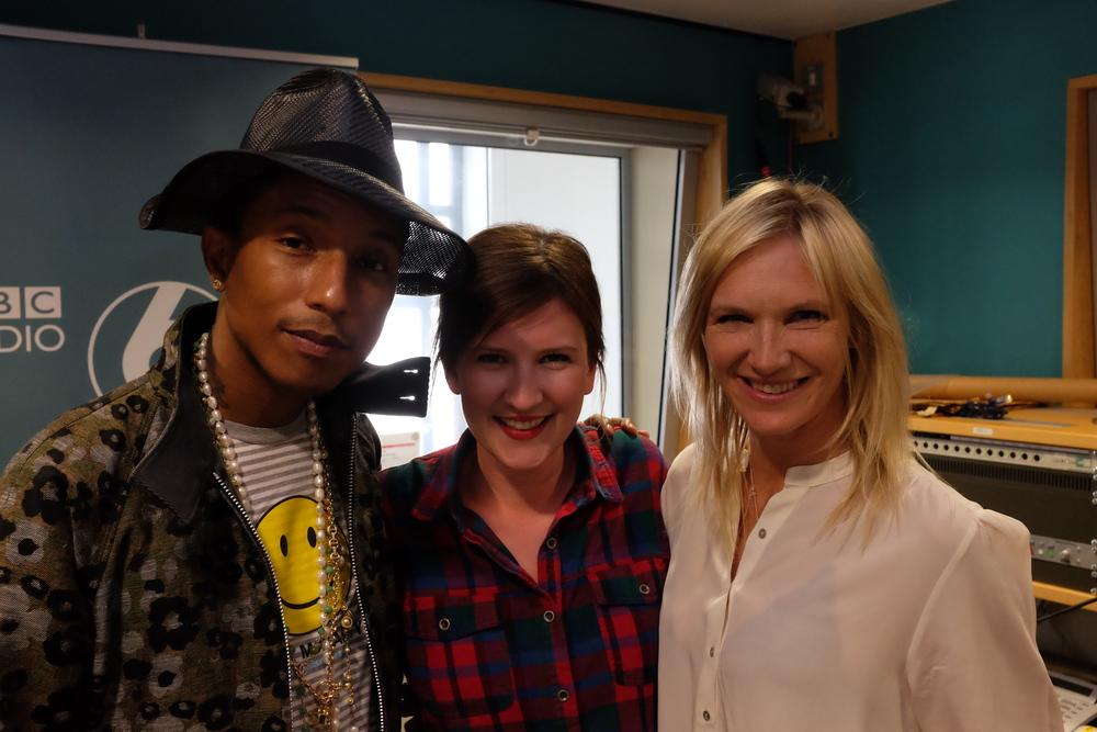 Happy with Pharrell