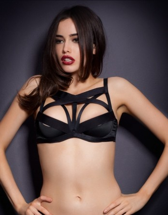 Strap detail going across the whole chest by 'AGENT PROVOCATEUR'