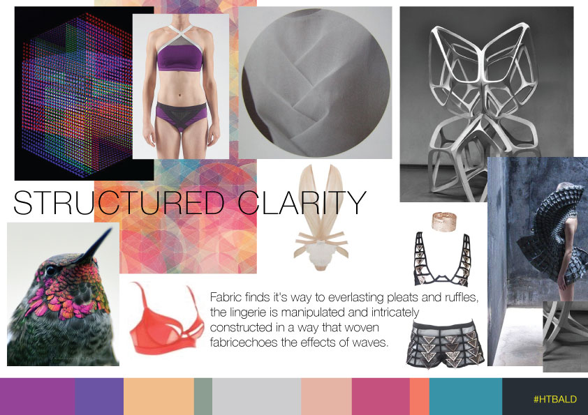 Structured Clarity Lingerie Trend AW15/16
