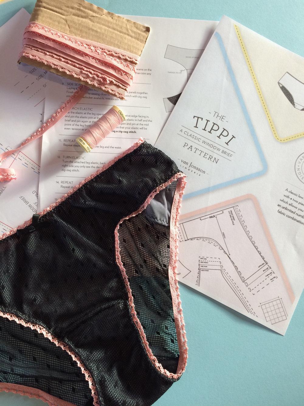 tippi lingerie pattern