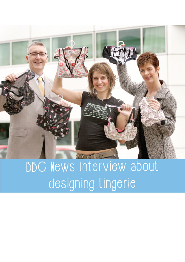 bbc news interview about designing lingerie
