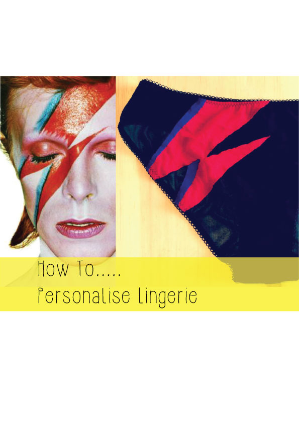 how to personalise lingerie