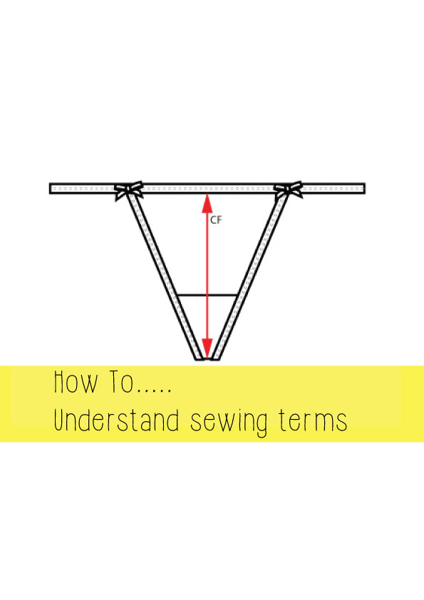 how to understand sewing terms