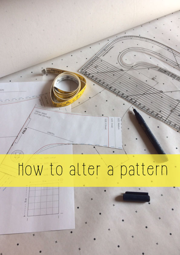 how to alter a pattern