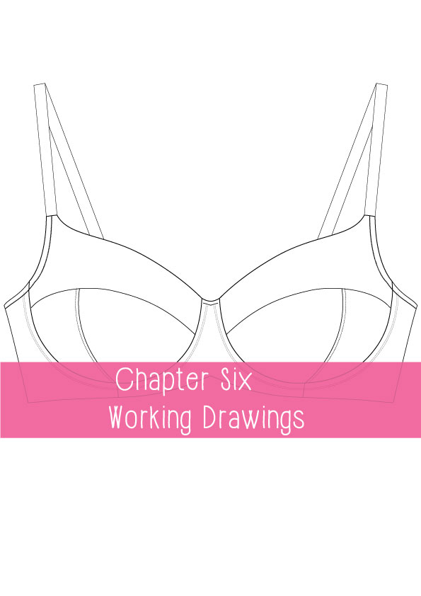 working drawings for lingerie