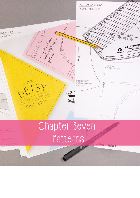 How to become a lingerie designer - a look at patterns