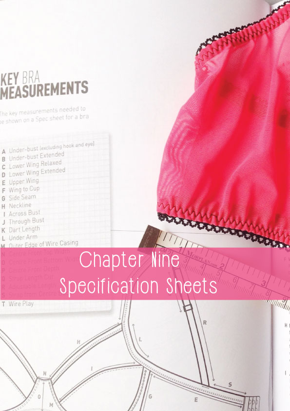 how to write a specification sheet