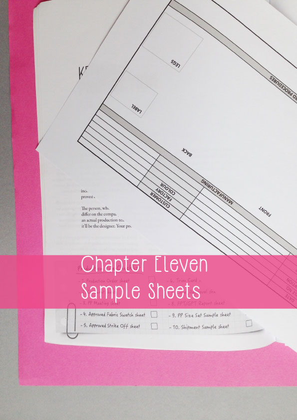 how to become a lingerie designer sample sheets