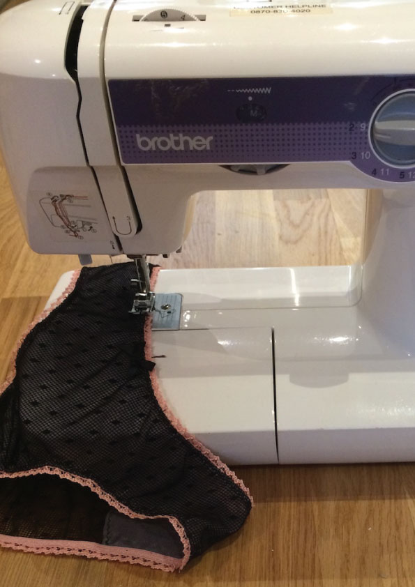 what sewing machine for lingerie designer