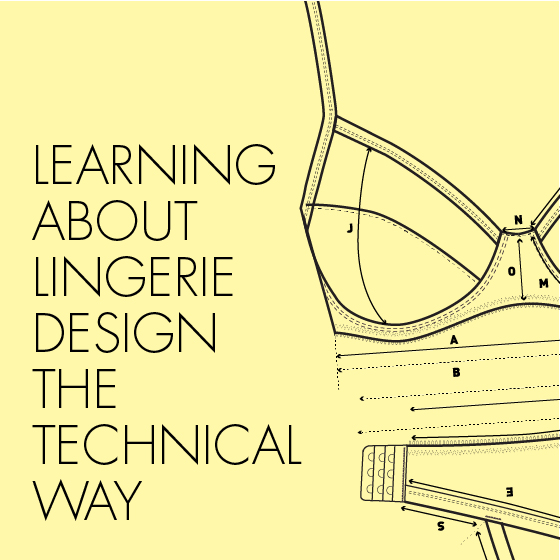 Lingerie design sheets