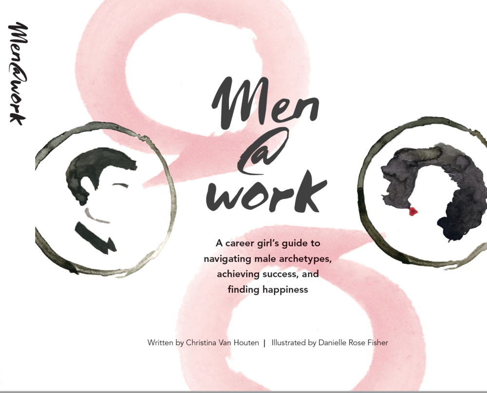 Cover art for Men@Work book