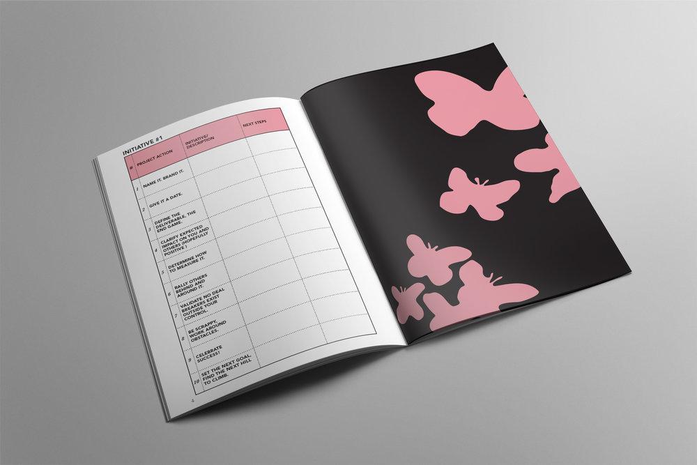 Women@Work Iniatives Journal inside spread