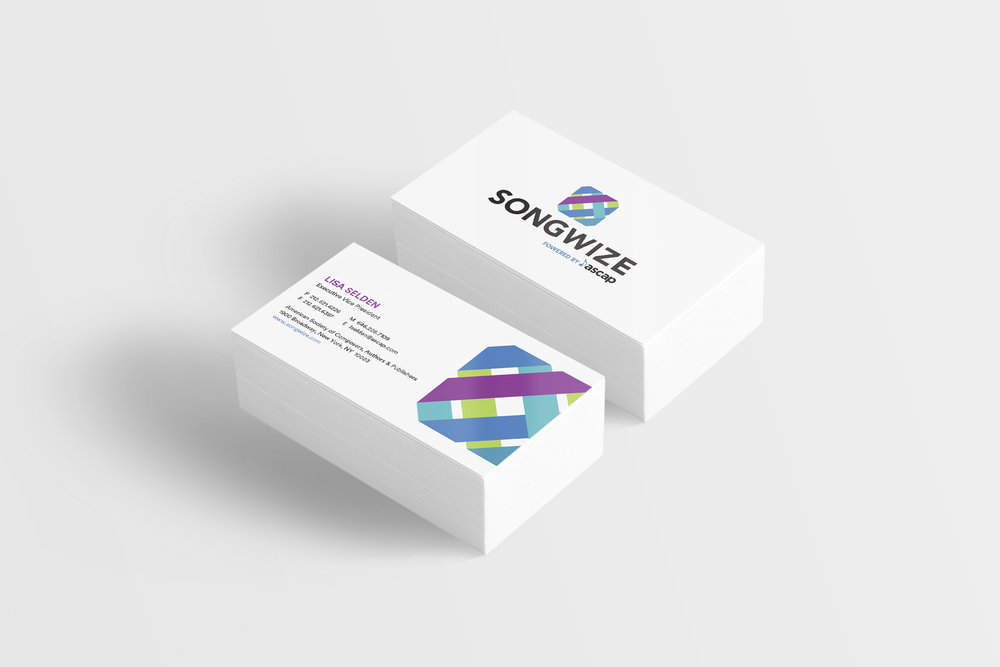 Songwize Business cards
