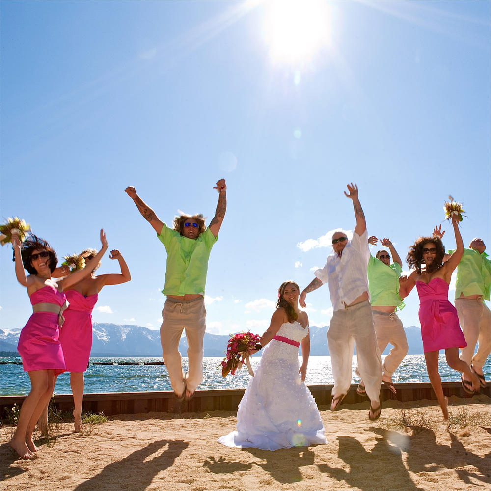 Beach Wedding from our Event Planning Services