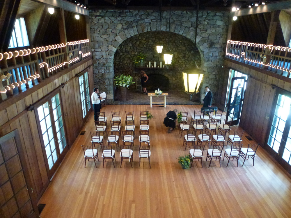 Valhalla Estate provides an amazing ceremony space