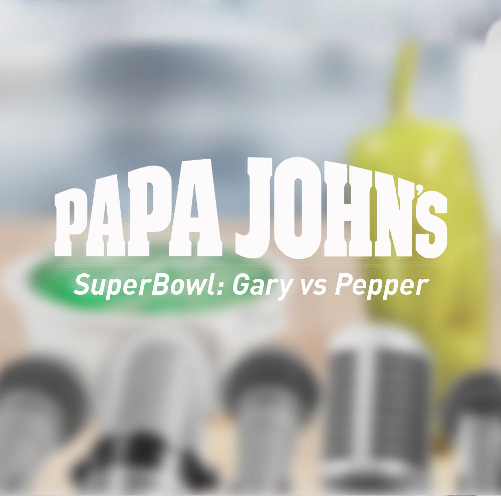 Papa Johns — Green