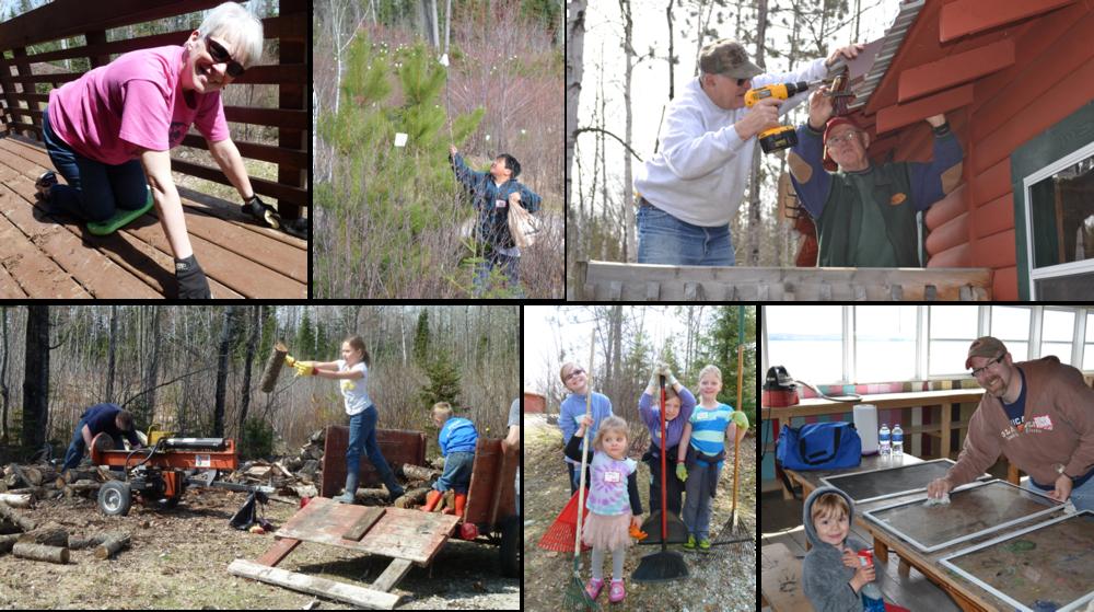 Camp Vermilion Work Day 2014