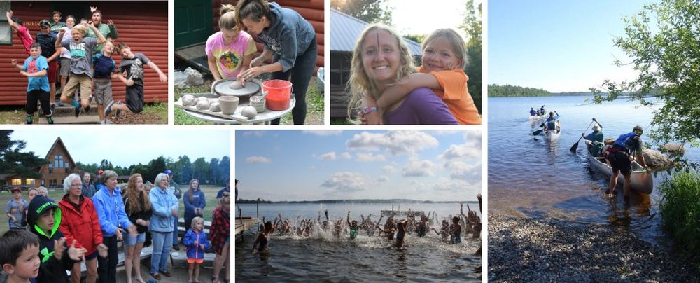 Click here  to view more photos from this amazing summer in God's great northwoods!