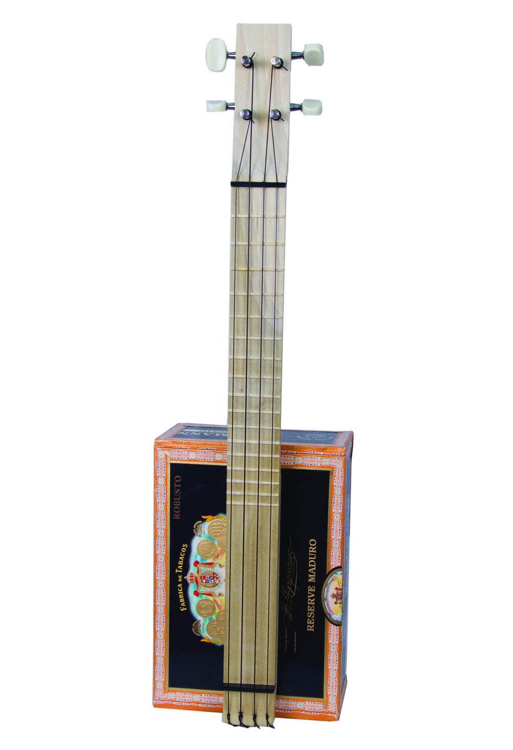 Cigar-Box Ukulele ($49)