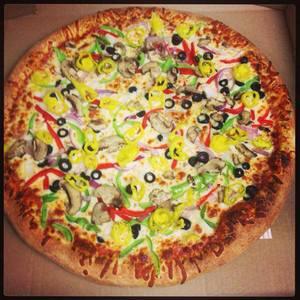 Veggie Spectacular Pizza