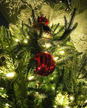 O Christmas tree, o Christmas tree, boop boop boop boop boop beep beep