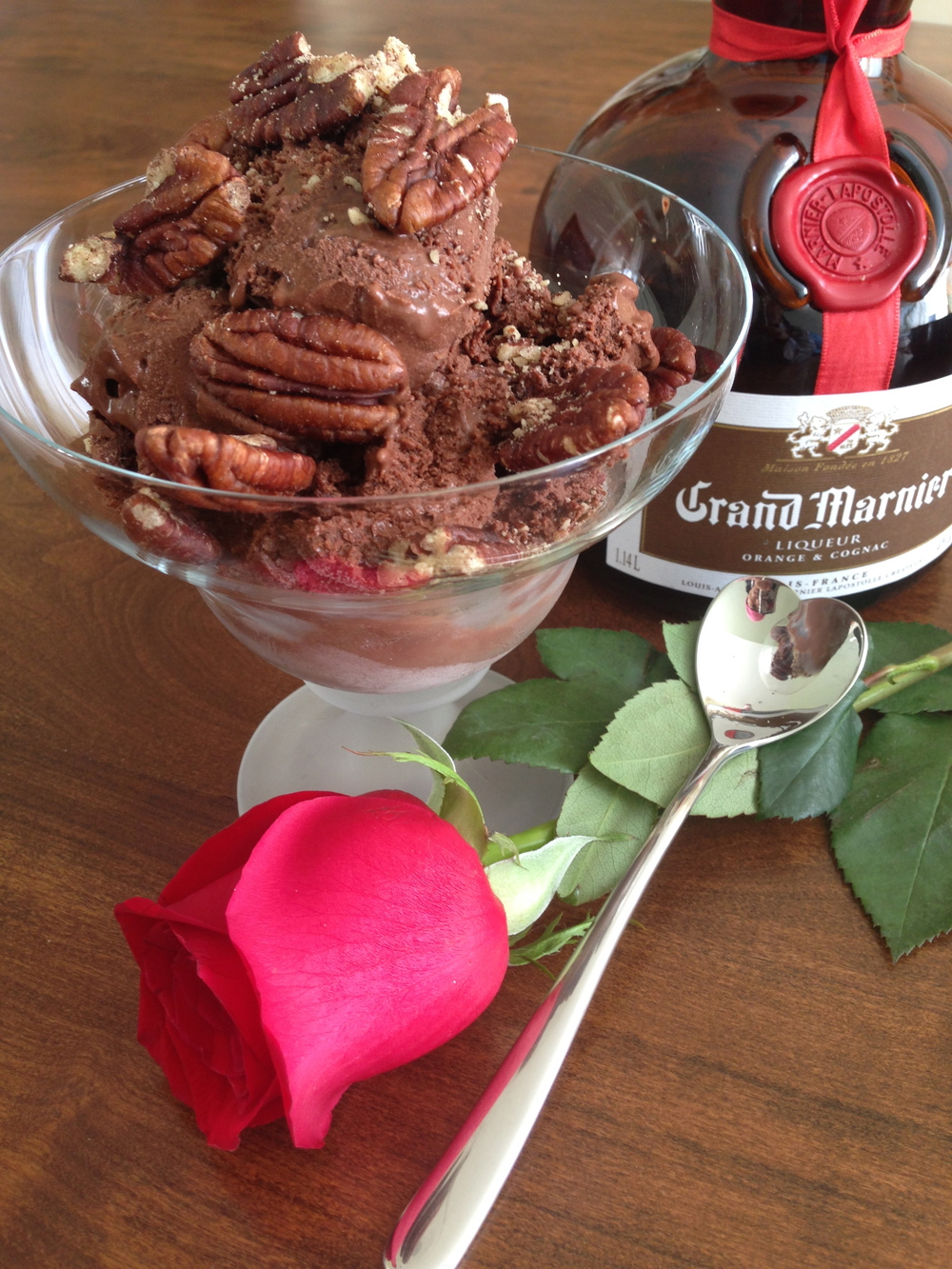 GrandMarnier Chocolate Pecan