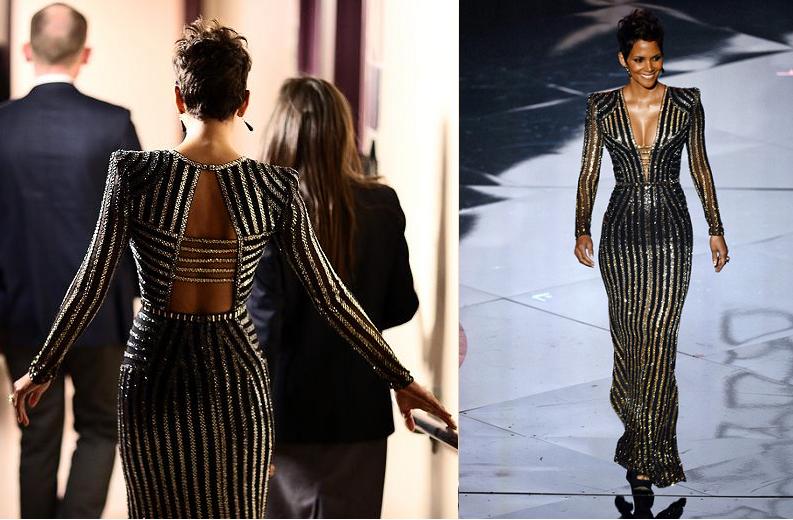 Halle Berry Oscars 2013 Style - Anna Be