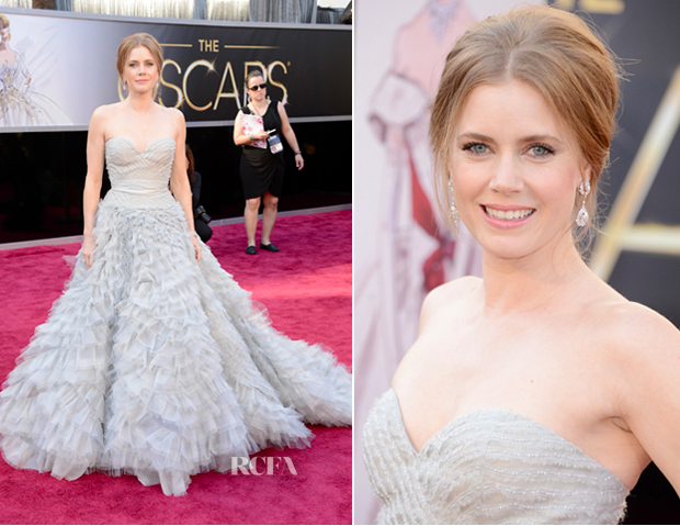Amy Adams Oscars 2013 Best Dressed - Anna Be