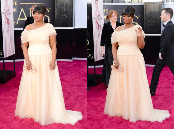Octavia Spencer Oscars 2013 Style - Anna Be