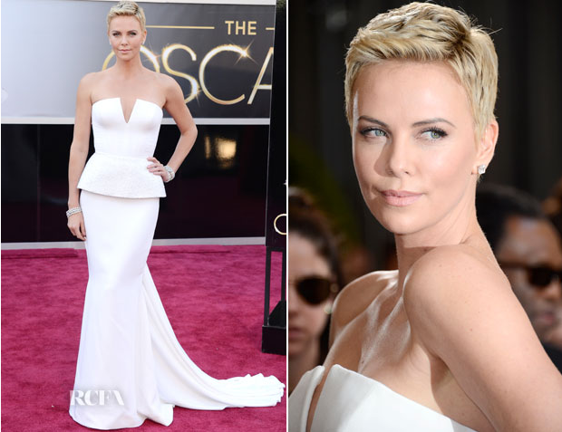 Charlize Theron Oscars 2013 Dior Dress - Anna Be