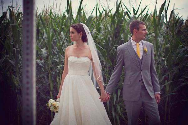 WEDDING GOWN: vera wang PHOTOGRAPHER: moodeous photography VENUE: osborn farm {loveland, co} - anna bé bridal boutique
