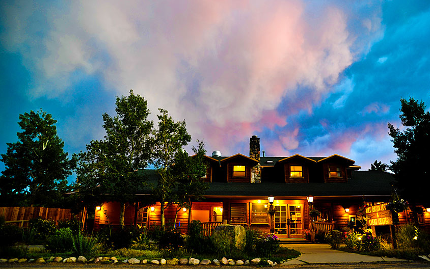 Wild Basin Lodge Wedding Venue Exterior