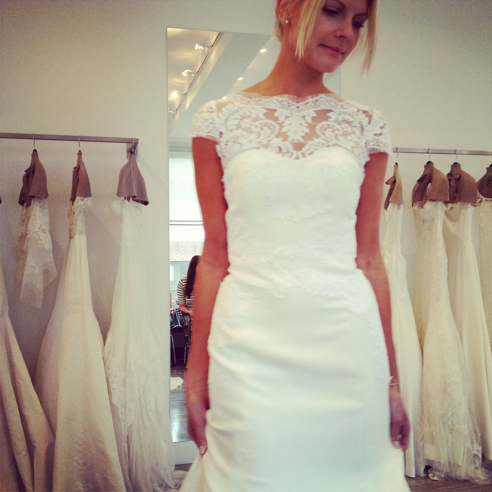 Instagram Photo of Lela Rose gown The Spring at the Lela Rose showroom in NYC