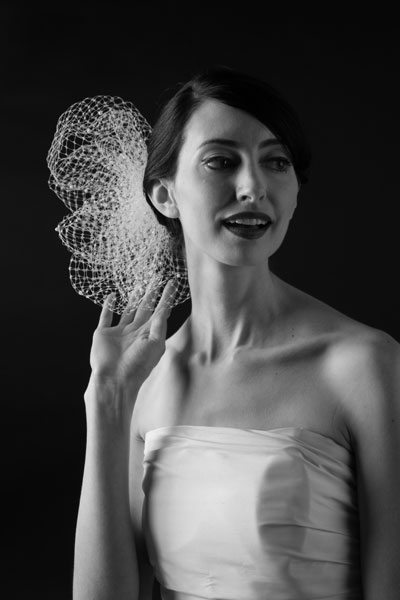 My favorite Sara Gabriel piece is the Olivia Veil! The Olivia Veil is a super cute, sassy headpiece that is a modern approach to the traditional veil. - Jessica